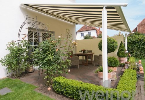 Weinor Awning with Legs - White - Awningsouth