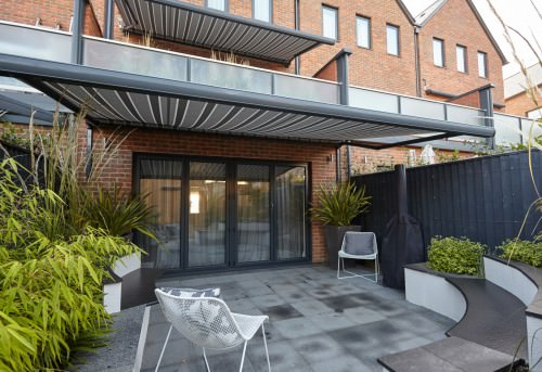 Retractable Awning Fitted in Winchester, Hampshire