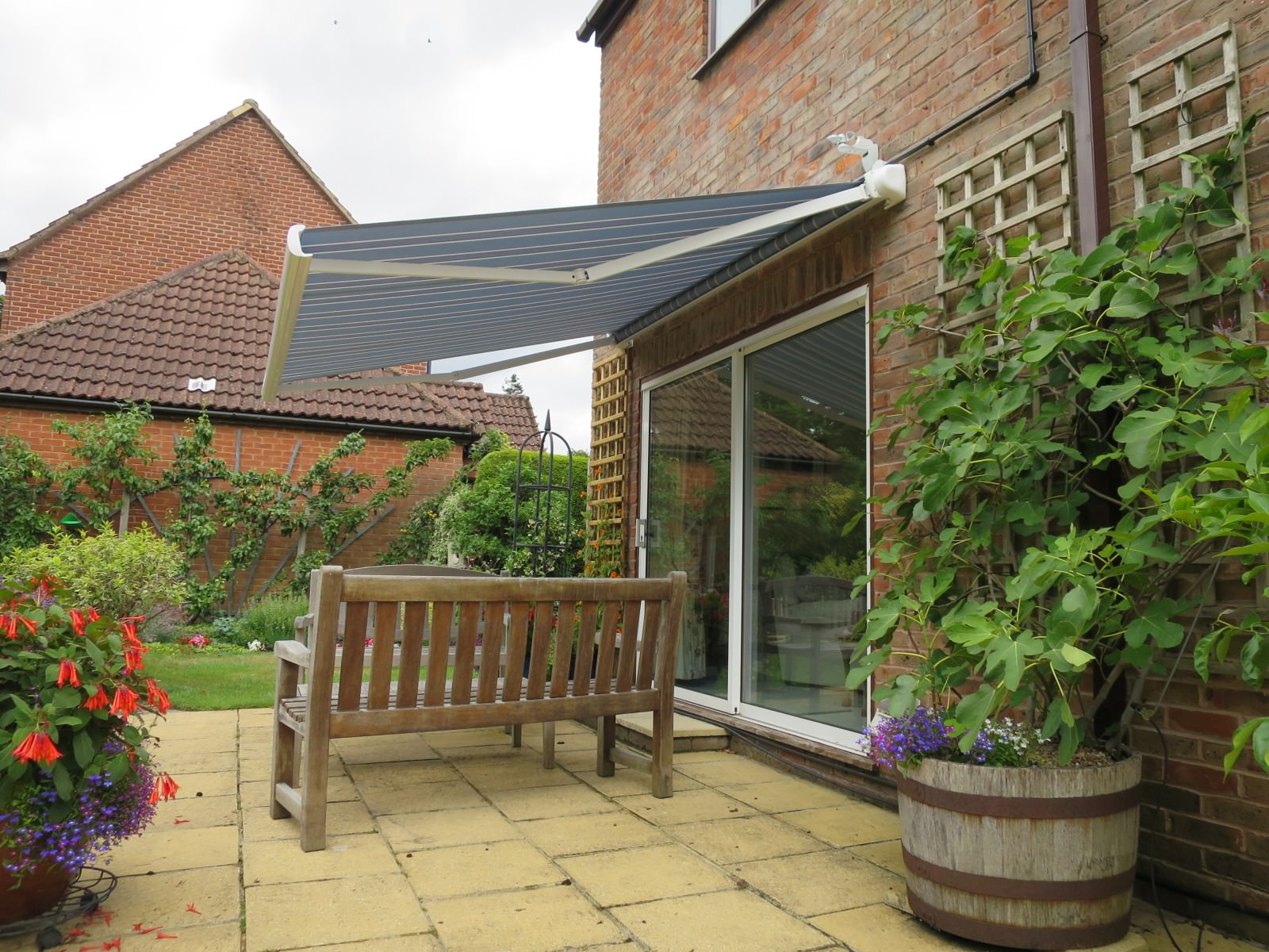 Patio Awning Fitted in Farnham - Shuttersouth