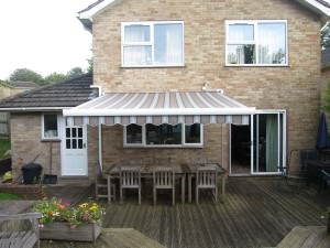 Retractable Garden Awning Fitted in Alresford
