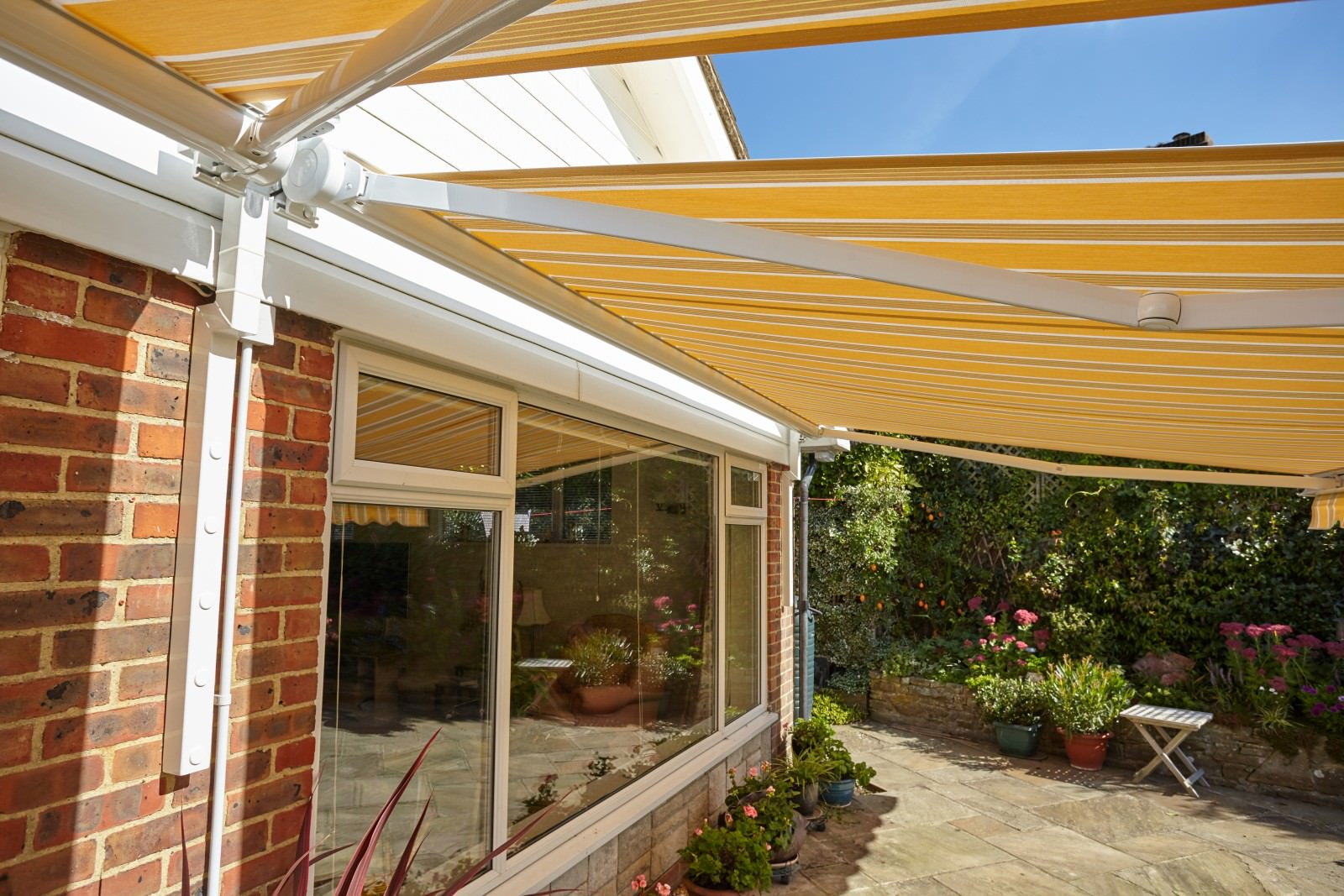 Patio Awnings Installed in Emsworth, Hampshire - Awningsouth