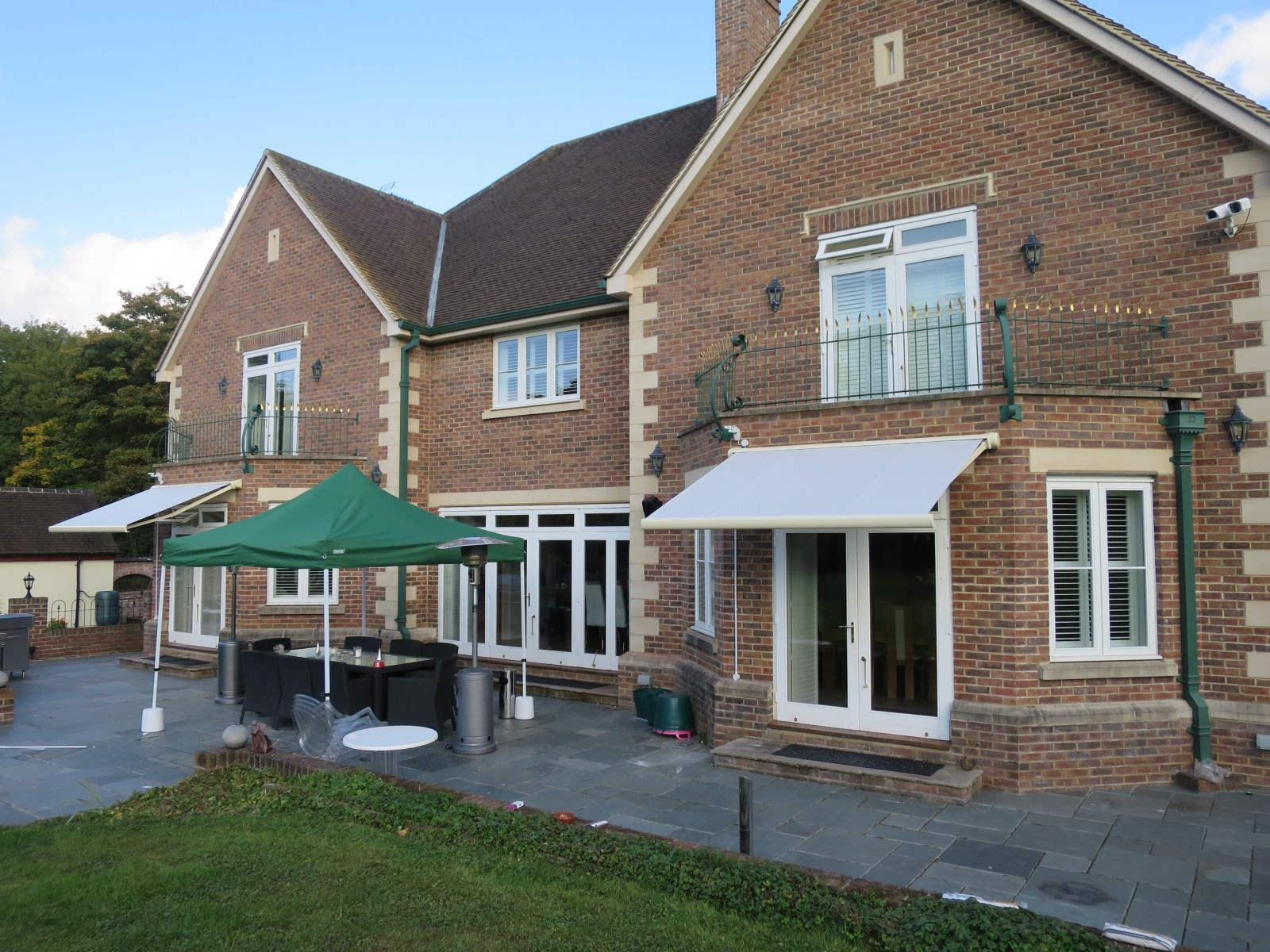 Electric House Awnings Installed in Andover - Awningsouth