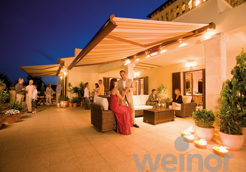 Opal LED Weinor Awning - Awningsouth
