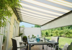 Opal Weinor Electric Awning with Valance - Awningsouth