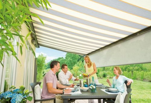 Premium Surrey Awning with Valance by Awningsouth