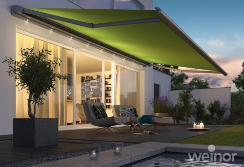 Weinor - Cassita Weinor Awning with Lights
