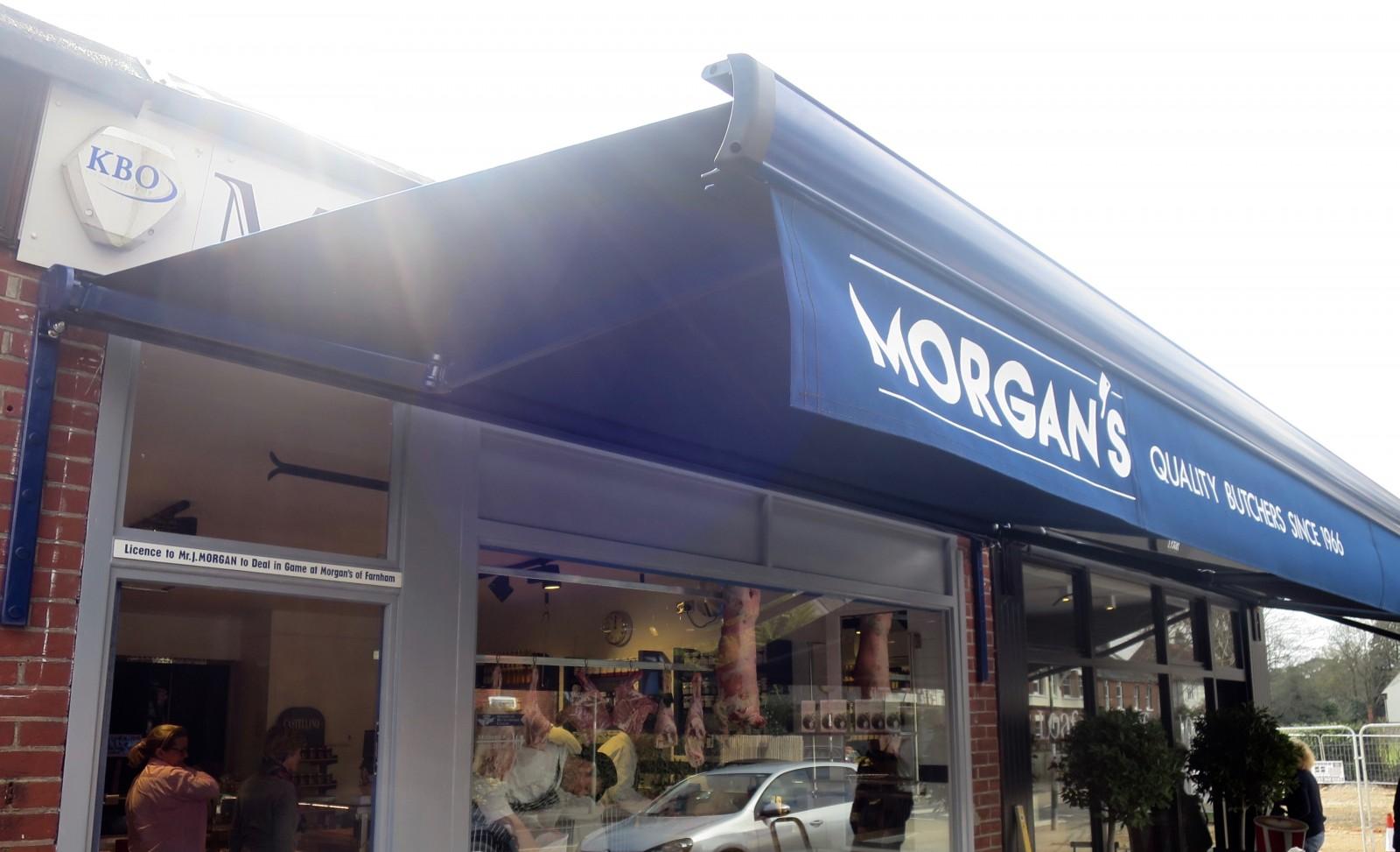 Shop Awning Farnham   Awningsouth