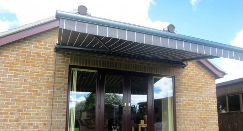 Patio Awning Fitted in Bishops Waltham by Awningsouth