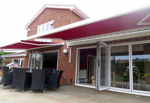 Bifold Door Electric Awnings Fitted in Porchester