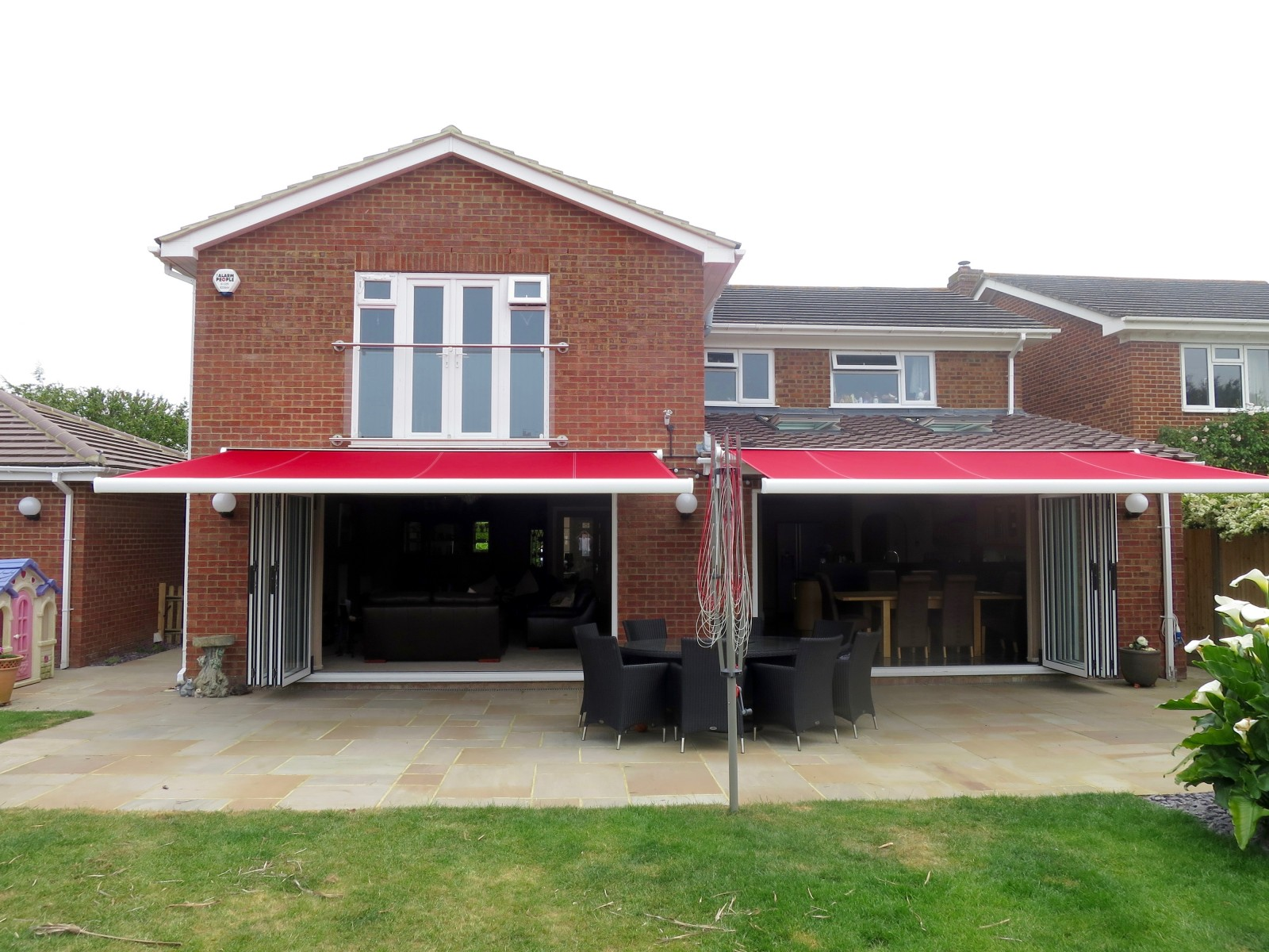 Bifold Door Garden Awnings Fitted in Porchester