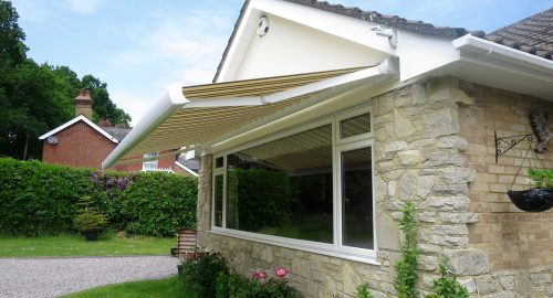Bungalow Awning Fitted in New Forest