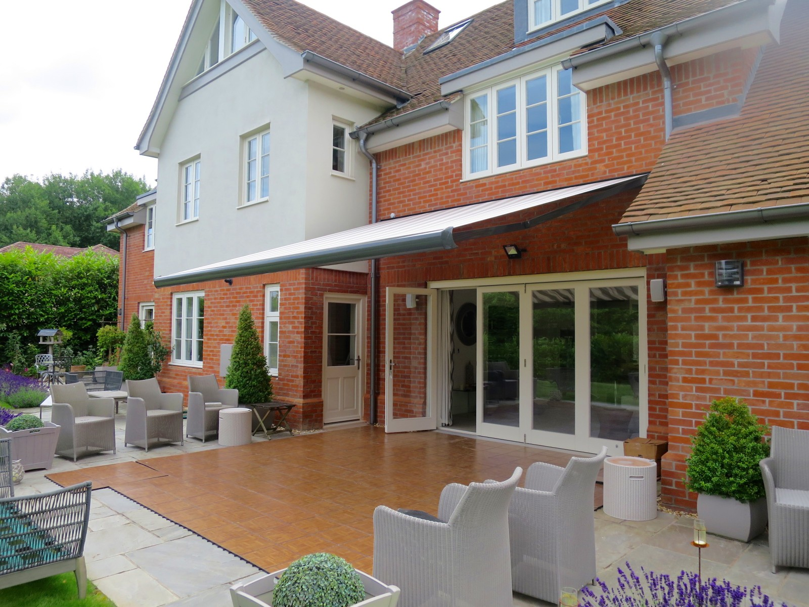 Large Patio Awning Fitted In Southampton