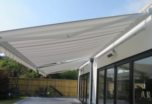 Electric Awning Fitted in Gosport, Hampshire by Shuttersouth