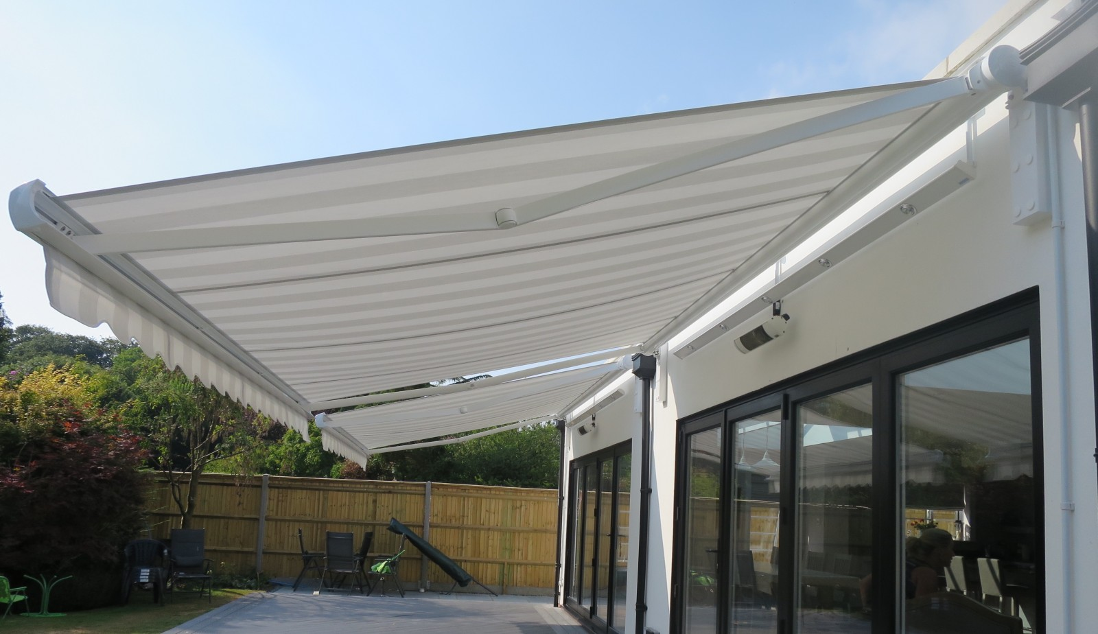 Electric Awning Fitted In Gosport Hampshire By Shuttersouth