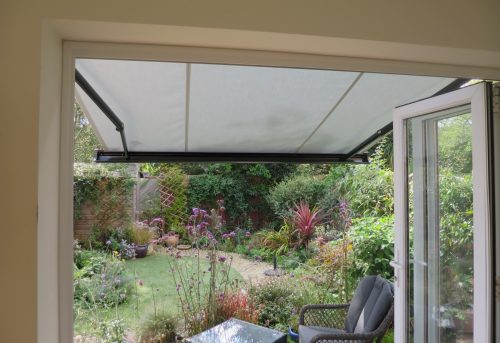 Garden Awning Fitted in Emsworth, Hampshire by Awningsouth