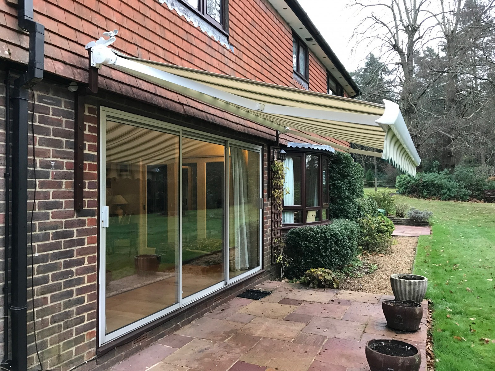 Electric Awning Fitted In Petersfield By Awningsouth