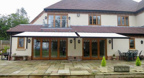Electric Patio Awnings Fitted in Ringwood by Awningsouth