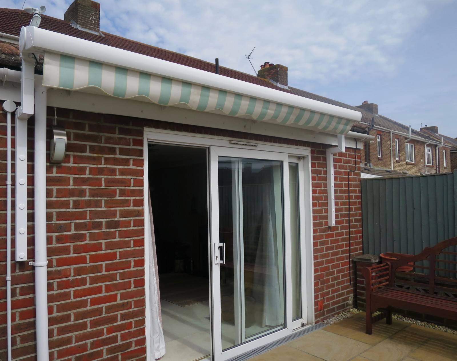 Electric Patio Awning Fitted In Portsmouth Awningsouth