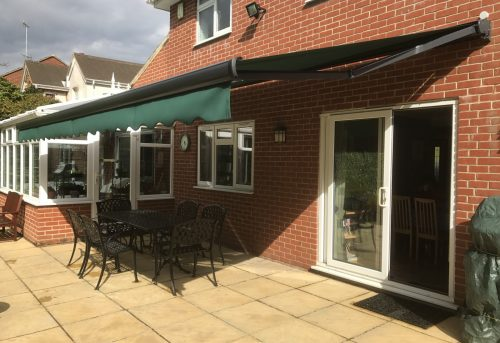 Patio Awning Fitted in Fleet - Awningsouth