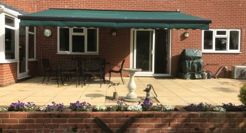 Large Patio Awning Fitted in Fleet - Awningsouth