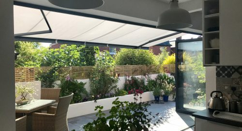 Weinor Opal II Awning Fitted for Bi-Fold Doors in Southampton - Awningsouth