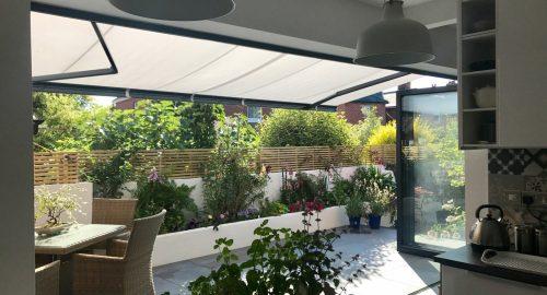 Weinor Opal II Awning Fitted for Bi-Fold Doors in Southampton - Awningsouth