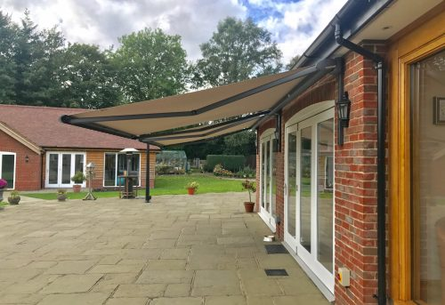 Weinor Cassita II Awning Fitted in New Forest - Awningsouth - Side View