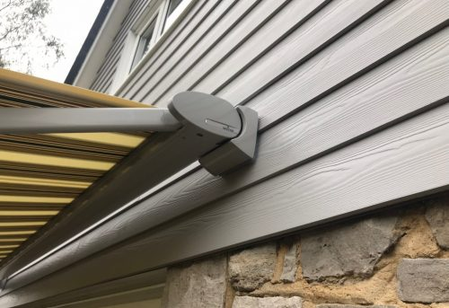 Special Awning Brackets - Weinor Cassita Awning Fitted in Ringwood by Awningsouth