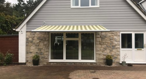 Weinor Cassita Awning Fitted in Ringwood by Awningsouth