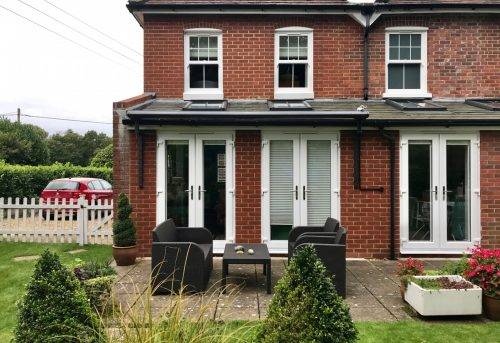Weinor Cassita Awning for French Doors in Ringwood