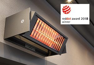 Tempura Awning Heater System - Weinor - Awningsouth