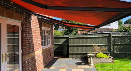 Patio Weinor Cassita Awnings Fitted in Liphook, Hampshire