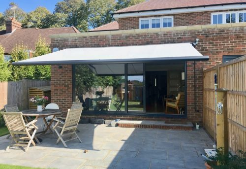 Motorised Weinor Cassita Awning - Fitted in Godalming - Awningsouth