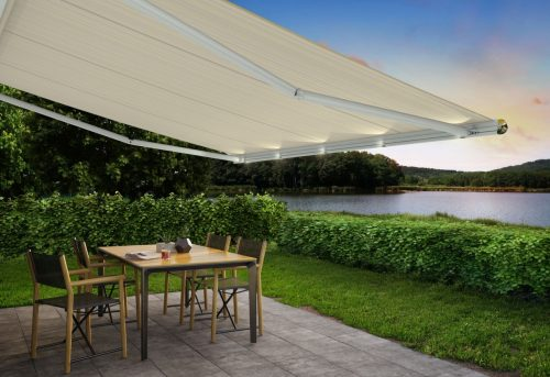 1650 Markilux Awning - White - Supplied and Fitted by Awningsouth - Hampshire, Surrey, London