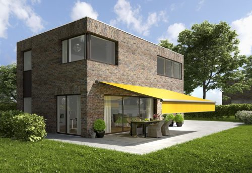 6000 Markilux Awning - Yellow Awning- Supplied and Fitted by Awningsouth - Hampshire, Surrey, London