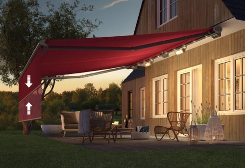 Weinor Semina Life Awning - Power Valance - Fitted By Awningsouth