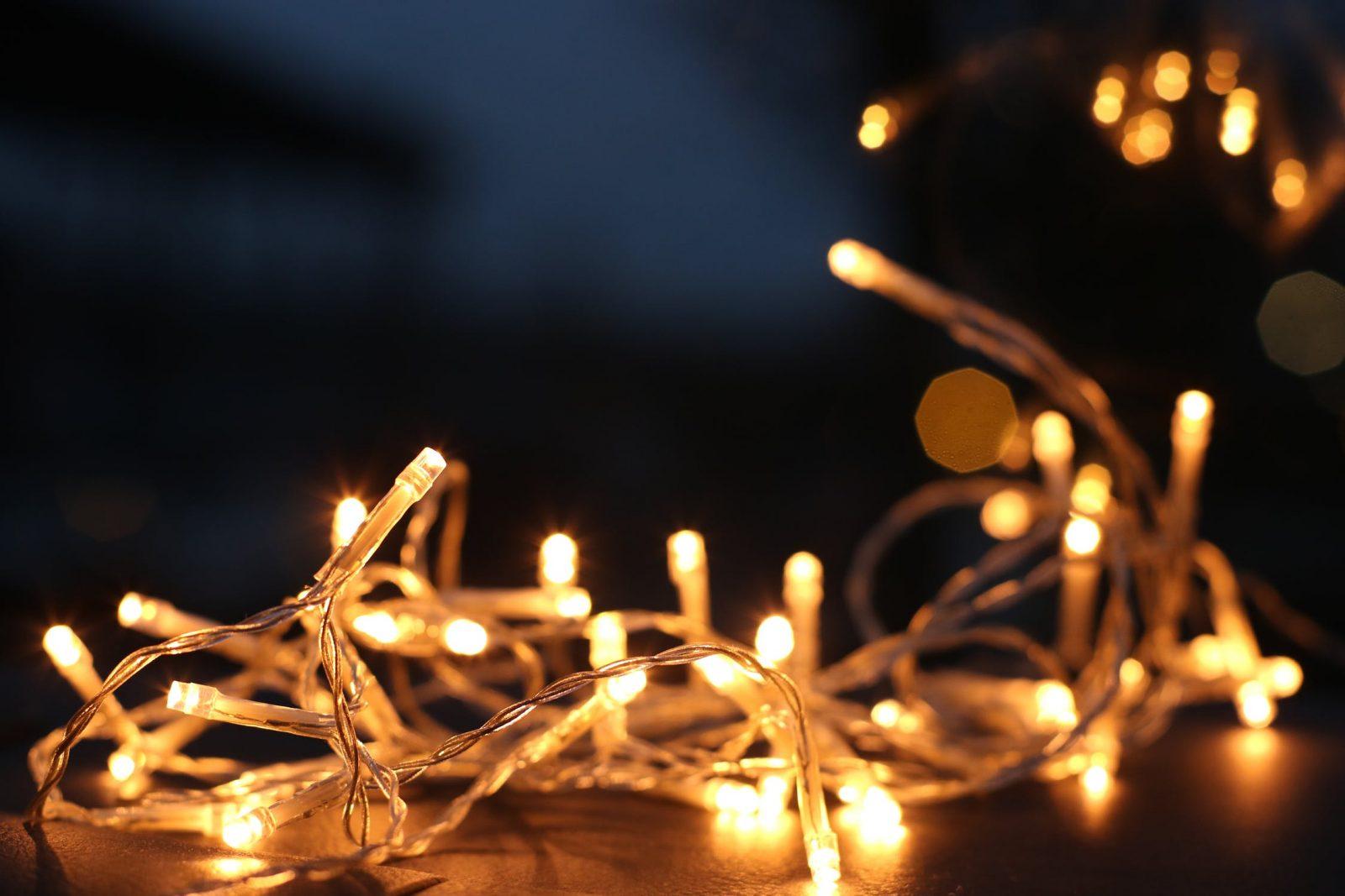 Fairy Lights - Winter Garden Top Tios - Awningsouth