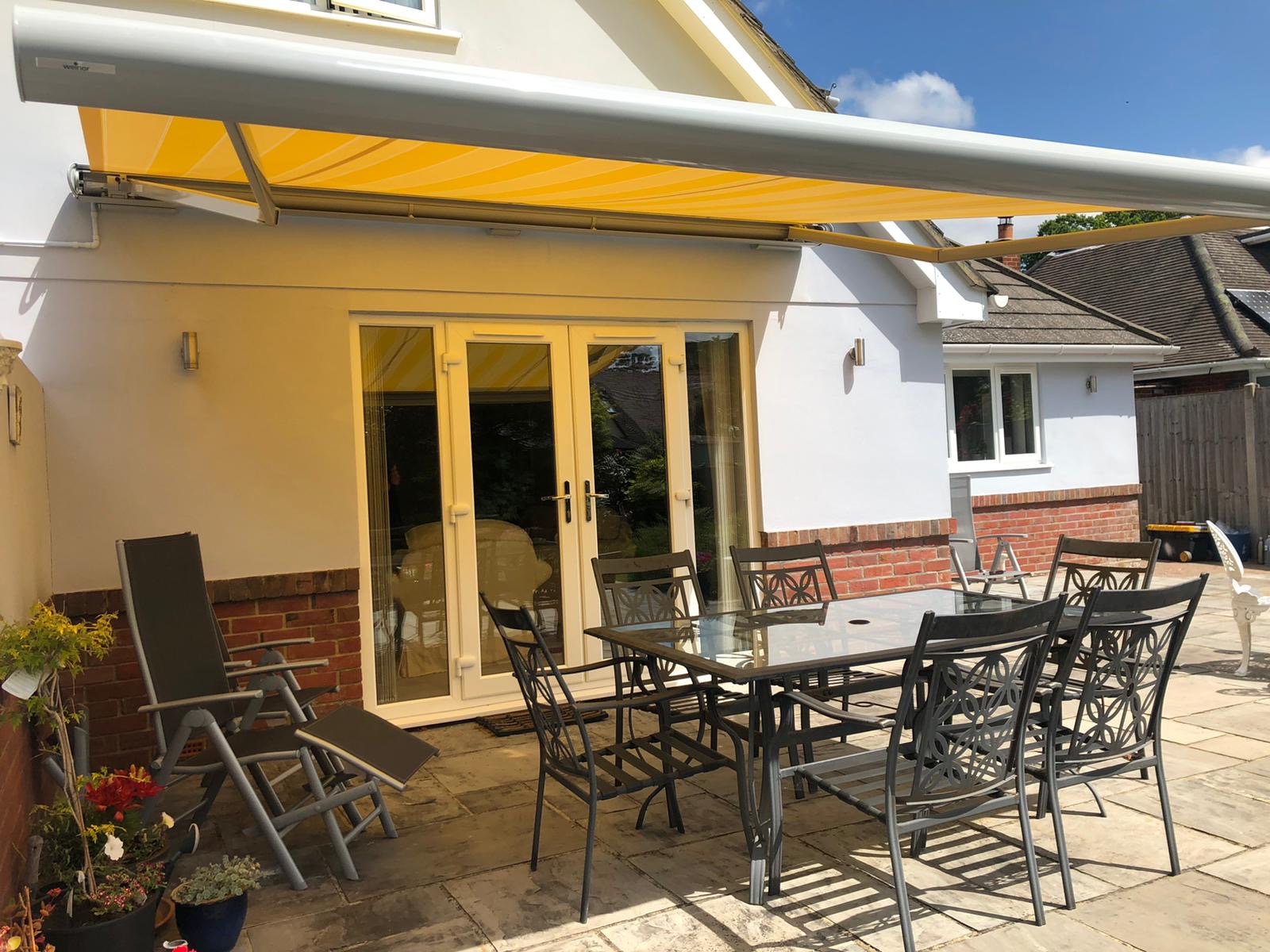 Weinor Opal Awning Fitted in Ferdown Dorset - Awningsouth