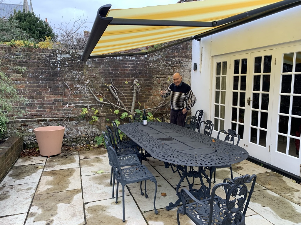 Markilux 990 Awning Fitted Over Patio in Chichester
