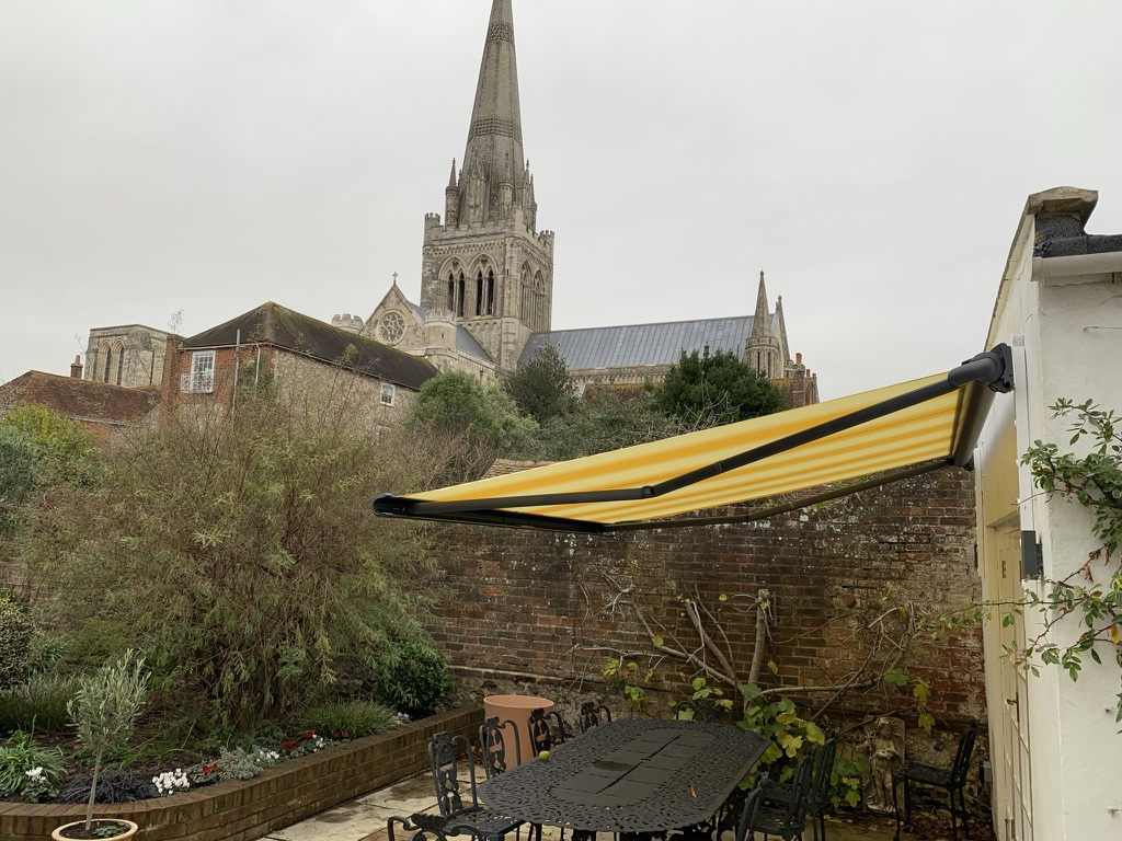 Markilux 990 Awning Fitted in Chichester - Side View