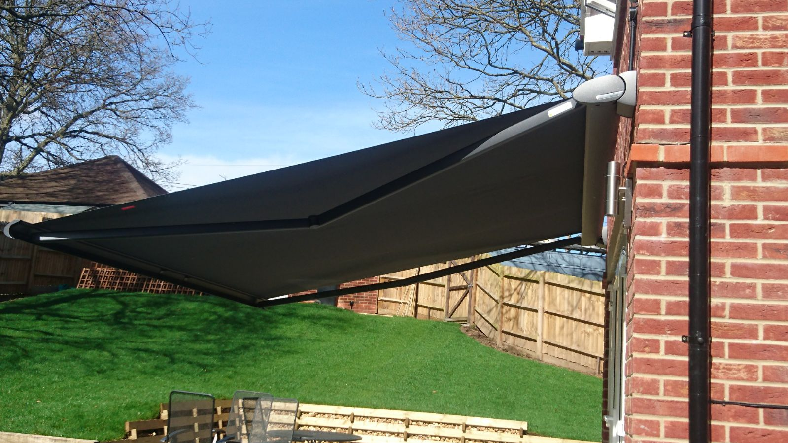 Weinor Cassita Awning Fitted in Hedge End by Awningsouth