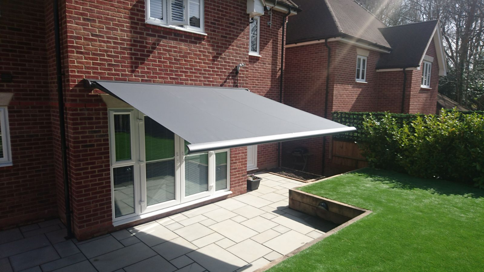 Weinor Cassita Electric Awning Fitted in Hedge End by Awningsouth