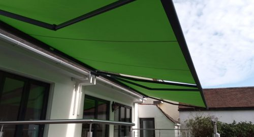 Large Garden Awning Fitted by Awningsouth