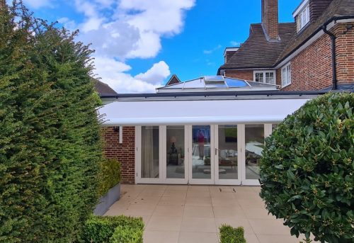 Weinor Semina Life Awning Fitted by Awningsouth - Large Canopy