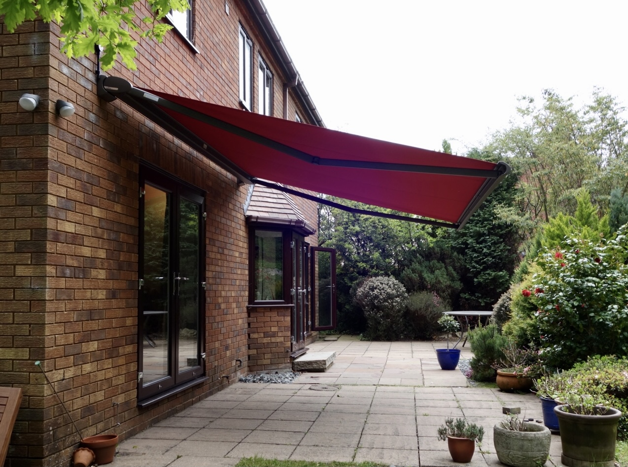 Red Weinor Cassita Awning fitted by Awningsouth